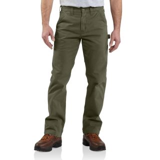 Mens Washed Twill Dungaree-