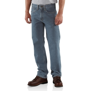 Mens Straight Traditional Fit Str Leg Jean-