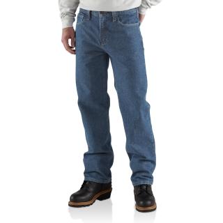Mens Flame-Resistant Utility Denim Jean-