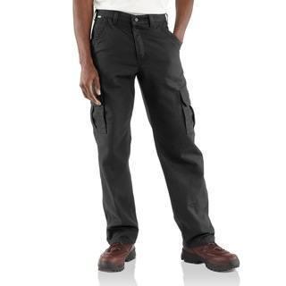 Mens Flame-Resistant Canvas Cargo Pant-