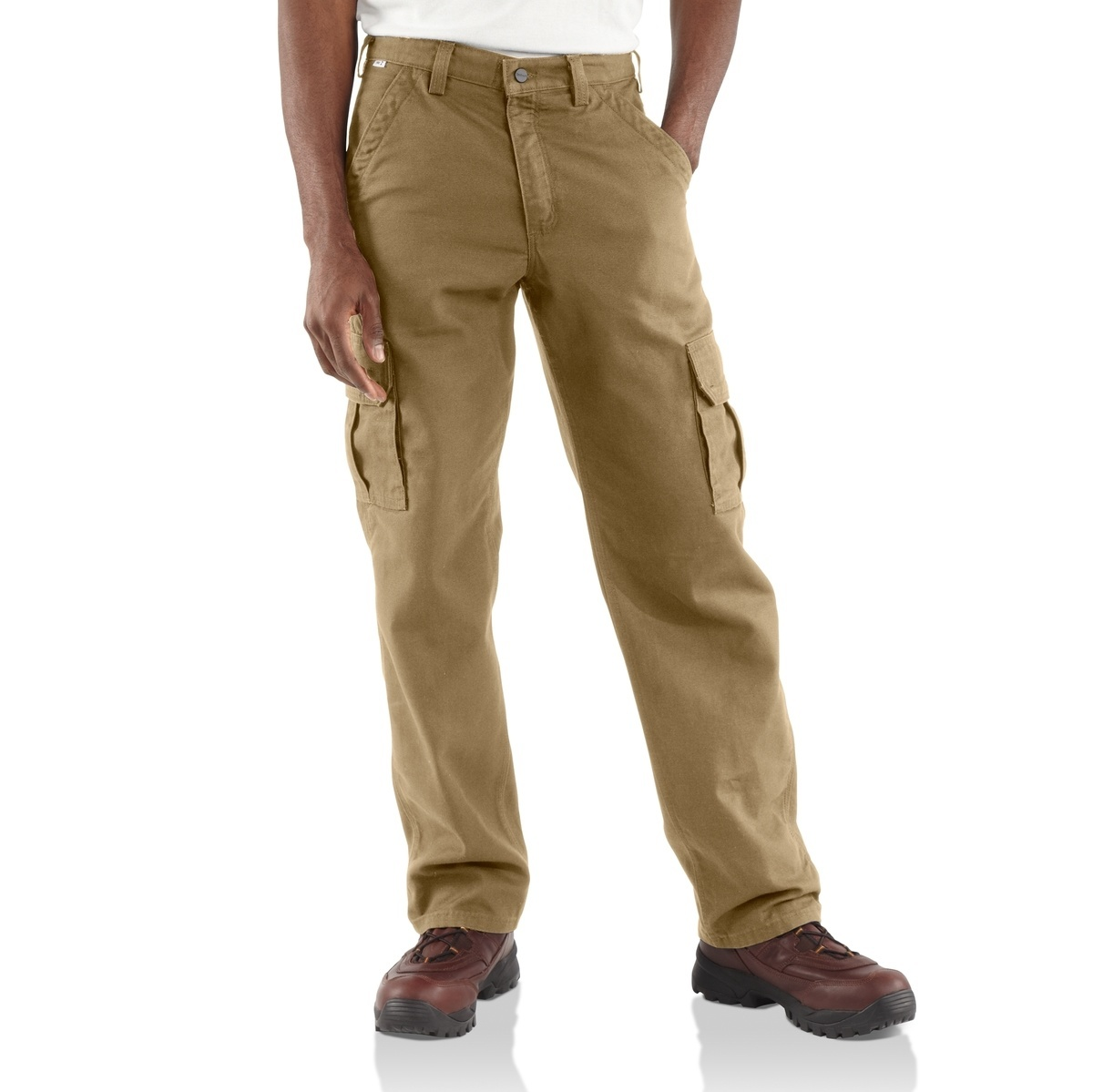 Carhartt - Mens Flame-Resistant Canvas Cargo Pant-Carhartt