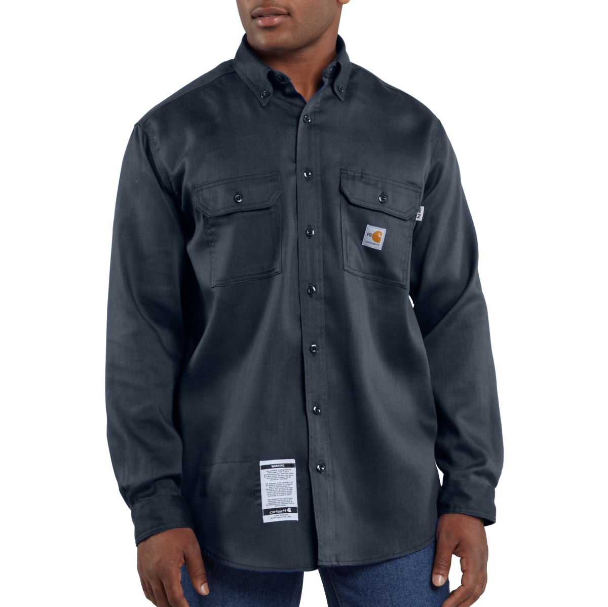 Mens Flame-Resistant LW Twill Shirt