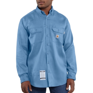 Mens Flame-Resistant LW Twill Shirt-