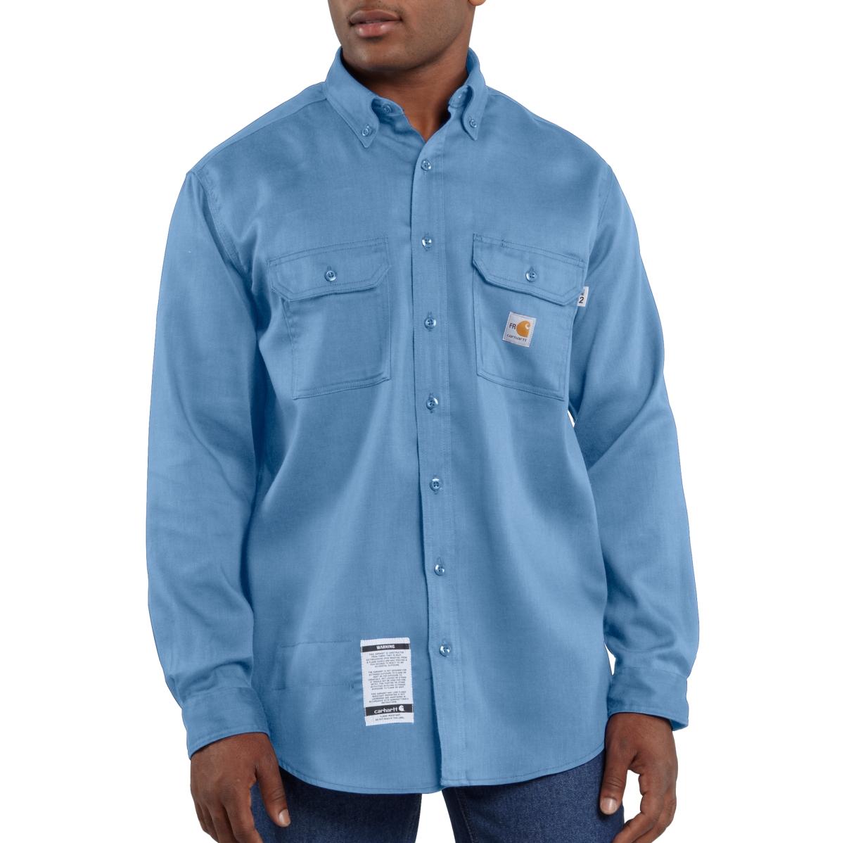 Carhartt - Mens Flame-Resistant LW Twill Shirt-Carhartt