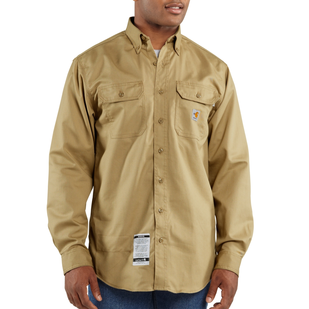FRS160 Mens Flame-Resistant Classic Twill Shirt