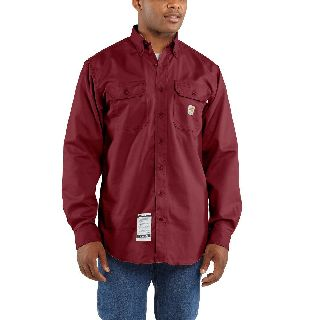 FRS160 Men's Flame-Resistant Classic Twill Shirt