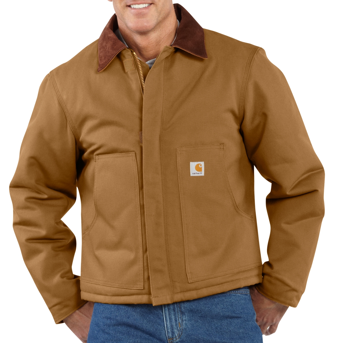 City of Las Vegas Mens Duck Traditional Jacket-Carhartt