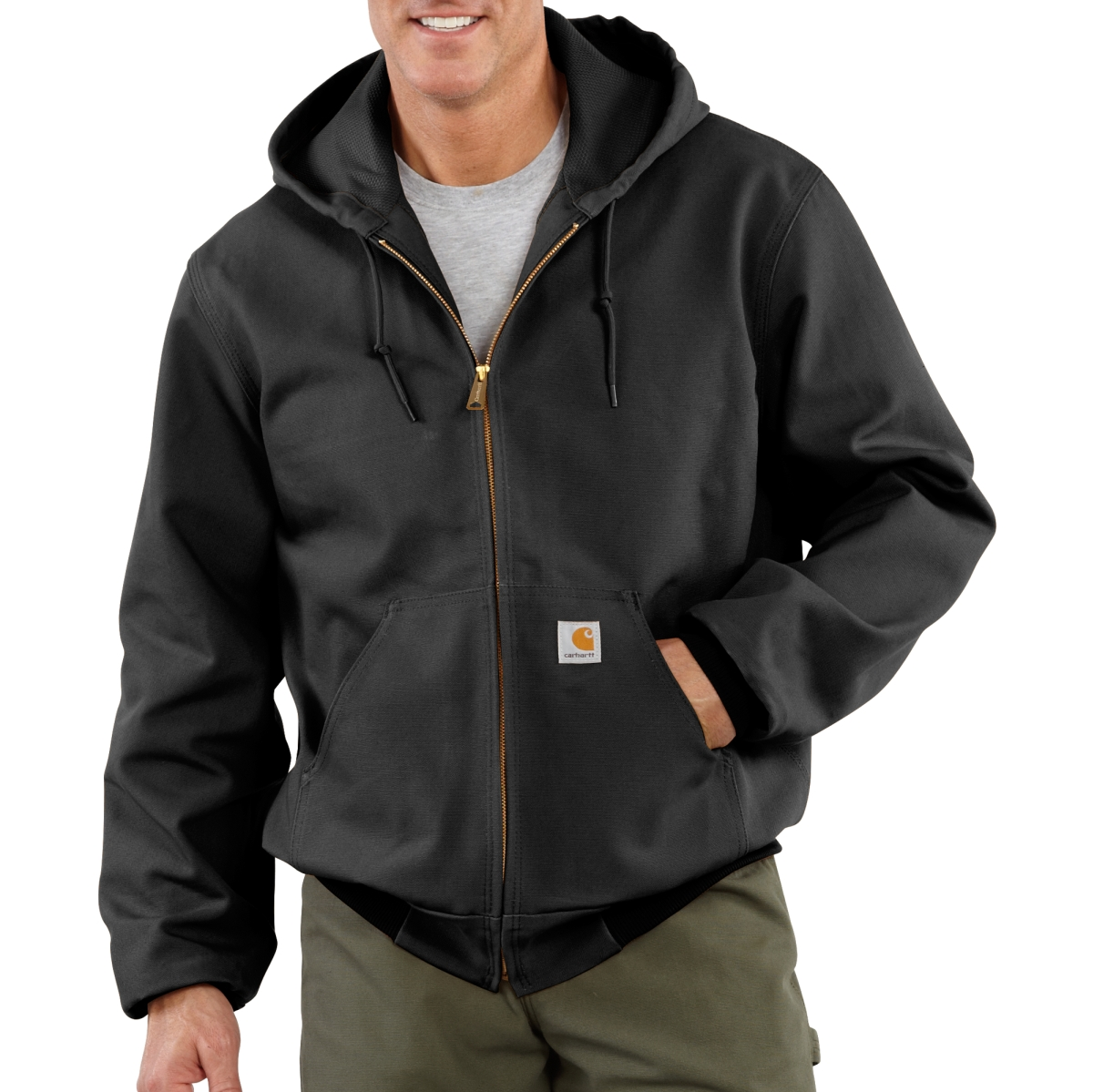 City of Las Vegas Mens Thermal Lined Duck Active Jac-Carhartt