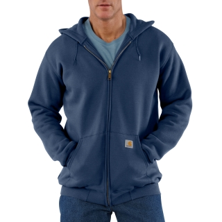 Mens Midweight Hooded Zip Front Sweatshirt-Carhartt