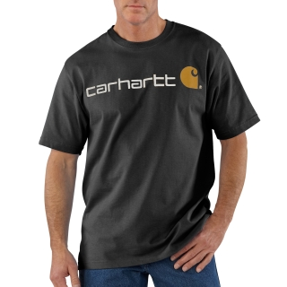 Mens Signature Logo Short Sleeve T Shirt-