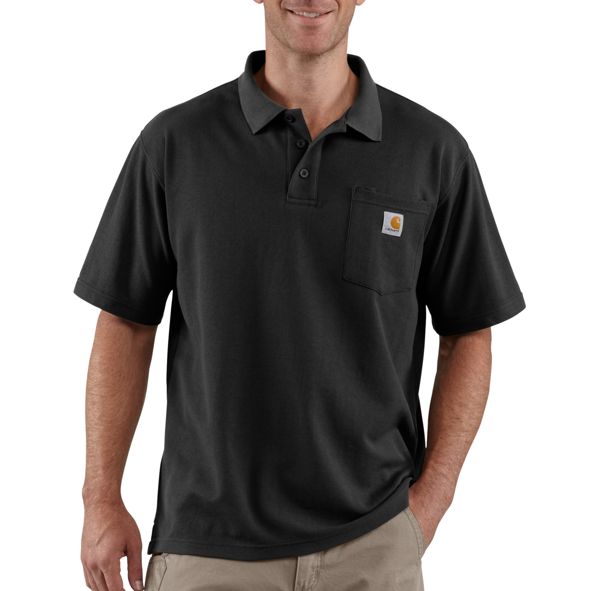 Mens Contractors Work Pocket Polo-