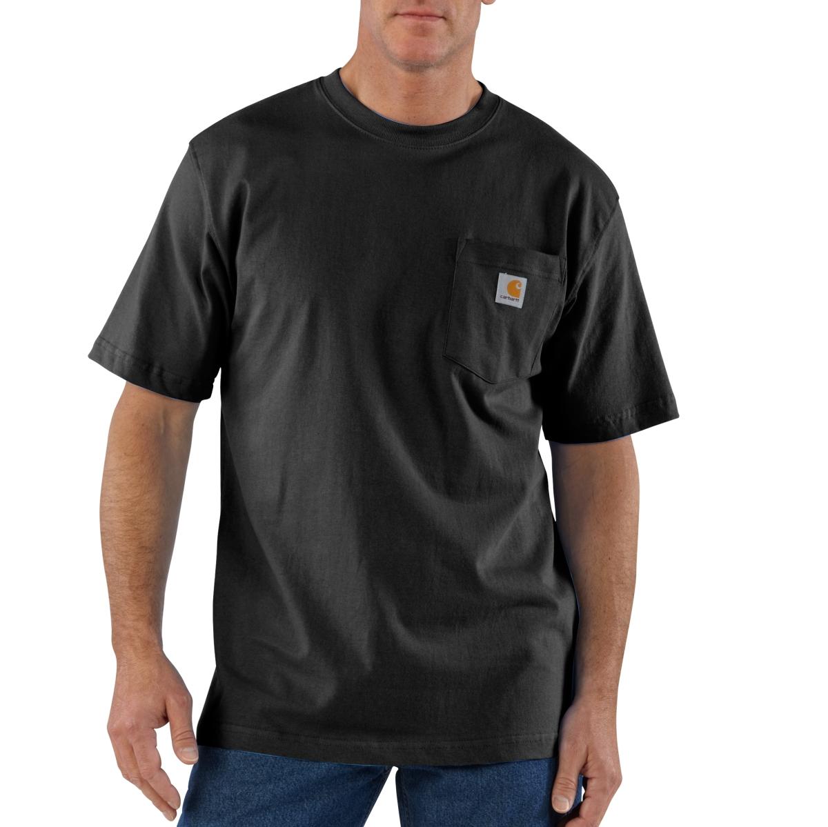 Mens Workwear Pocket Short Sleeve T Shirt-
