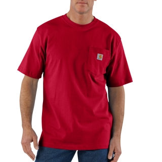 Mens Workwear Pocket Short Sleeve T Shirt