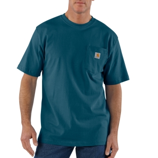 Mens Workwear Pocket Short Sleeve T Shirt-