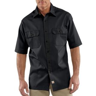 Mens Twill Short Sleeve Work Shirt