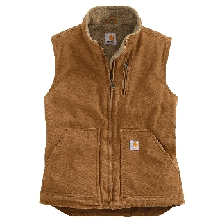 Womens Mock Neck Vest-