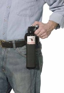 FRONTIERSMAN Bear Spray and Attack Deterrent 9.2 oz with Belt Holster-