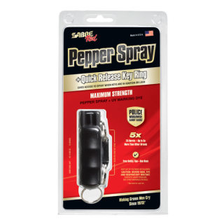 Key Case Pepper Spray with Quick Release Key Ring-
