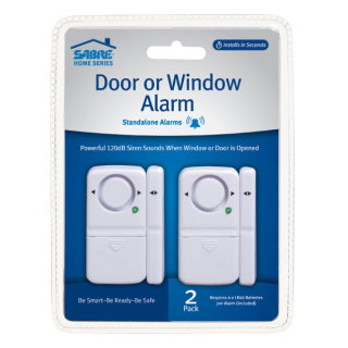 Magnetic Door / Window Alarm - 2 Pack-