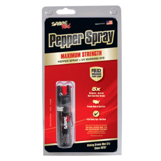 Pocket Pepper Spray Unit 0.75 oz with Clip-Sabre