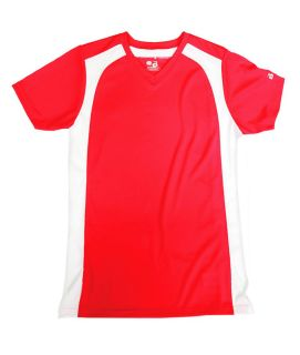 """Badger B-Core Ladies """"Triple Play"""" Contrast Panel Athletic Jersey"""