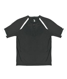 Badger Adult Competitor Henley Performance Tee