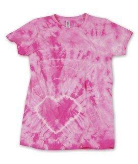Gildan Tie-Dye Ladies' Heart Tee