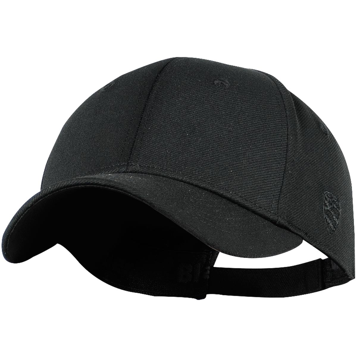 Stretch Fitted Cap w/ Velcro Closure-