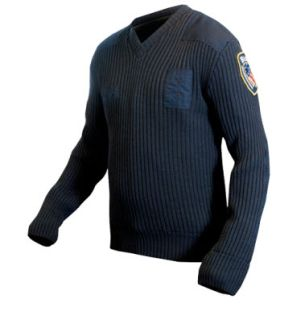205XCR Lined V-Neck Sweater