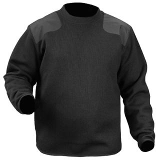 Fleece-Lined Crew Neck Sweater-