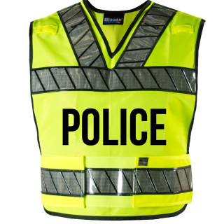 Breakaway Safety Vest With Police Logo-