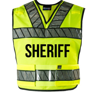 Breakaway Safety Vest With Sheriff Logo