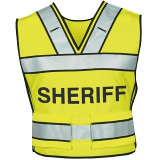 Breakaway Safety Vest W/ Sheriff Logo-Blauer
