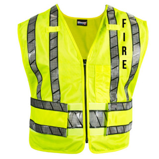 Reflexite Safety Vest With Fire Logo-