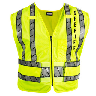 Reflexite Safety Vest With Sheriff Logo-