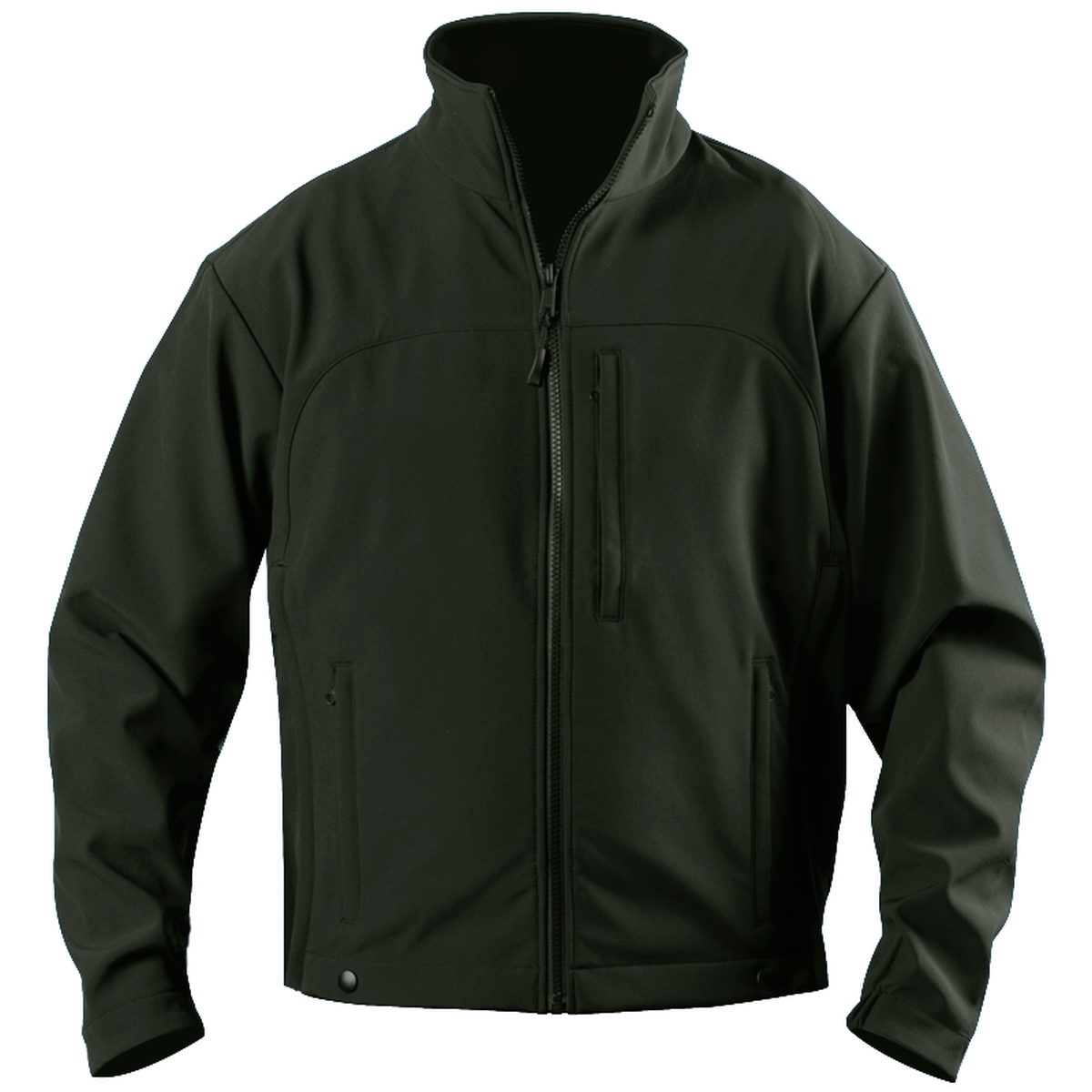 Softshell Fleece Jacket-Blauer