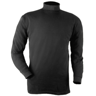 Turtleneck-Blauer