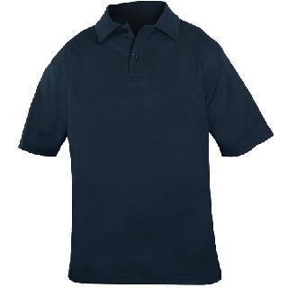 Bicomponent Polo Shirt-Blauer