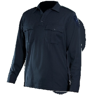Long Sleeve Bicomponentknit Shirt