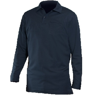 Long Sleeve Bicomponent Polo Shirt-