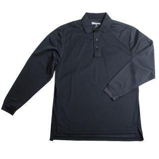 Performance Polo Ls Shirt-Blauer