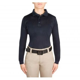 Performance Polo Ls Shirt (Womens)-Blauer