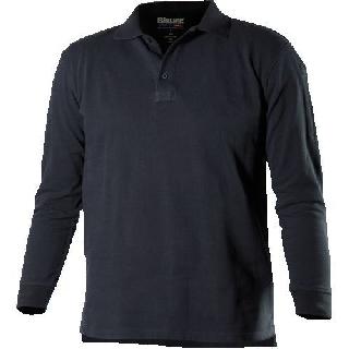 Ls 100% Cotton Polo Shirt