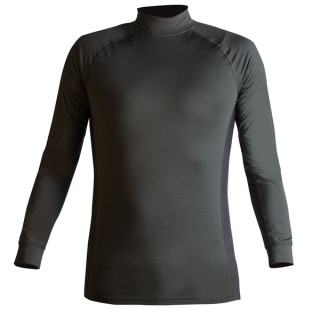 Quickheat Mock Turtleneck-Blauer