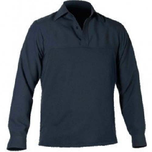 Long Sleeve Polyester Streetshirt-Blauer