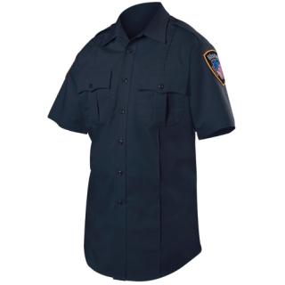 8421W Short Sleeve Cotton Blend Shirt (Womens)-Blauer