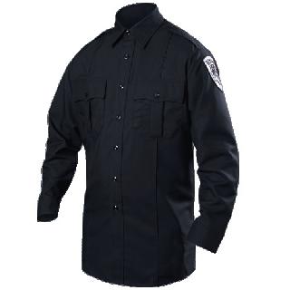 Long Sleeve Cotton Blend Shirt (Womens)-