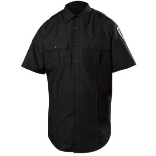 Short Sleeve Wool Blend Shirt (Womens)-