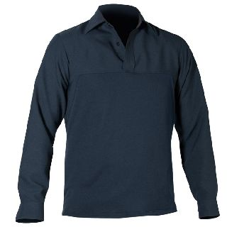 Long Sleeve Wool Blend Armorskin™Fleece Base Shirt-Blauer