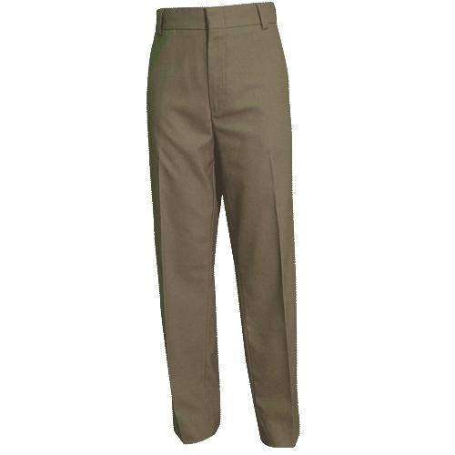 4-Pocket Wool Blend Trousers (Womens)-
